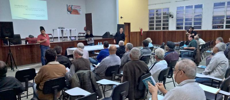 Assista à palestra dos Conselheiros da Petros no Sindipetro