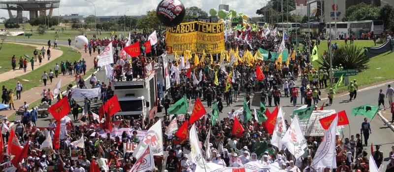 Avançar na luta contra as reformas trabalhista, da previdência, a lei da terceirização e o desmonte do Sistema Petrobrás